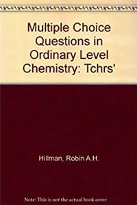 Multiple Choice Questions in Ordinary Level Chemistry: Tchrs' download epub