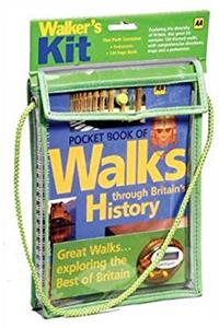 Aa Pocket Historical Walks Kit: Pocket Book of Walks Through Britain's History & Pedometer download epub