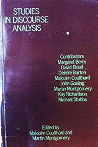 Studies in Discourse Analysis download epub