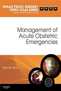 Management of Acute Obstetric Emergencies: Female Pelvic Surgery Video Atlas Series (Female Pelvic Video Surgery Atlas Series) download epub