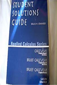 Student Solutions Guide for Calculus: An Applied Approach download epub