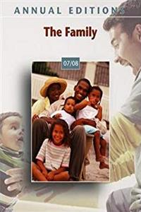 Annual Editions: The Family 07/08 download epub