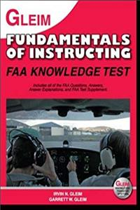 Gleim Fundamentals of Instructing FAA Knowledge Test for 2011 download epub