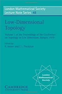 Low-Dimensional Topology (London Mathematical Society Lecture Note Series) download epub