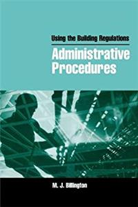 Using the Building Regulations: Administrative Procedures download epub