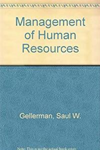 Management of Human Resources download epub