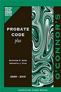 O'Connor's Probate Code Plus 2009-2010 download epub