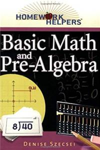 Homework Helpers: Basic Math And Pre-Algebra download epub
