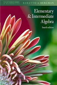 Hutchison's Elementary and Intermediate Algebra (Hutchison Series in Mathematics) download epub