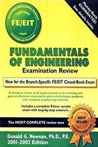 Fundamentals of Engineering Examination Review 2001-2002 Edition download epub