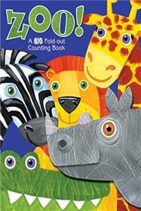 ZOO! A Big Fold Out Counting Book: A Fold-Out Book About Counting download epub