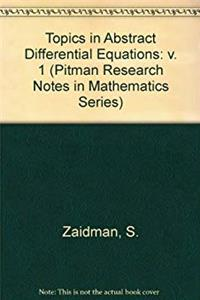 Topics in Abstract Differential Equations (Chapman & Hall/CRC Research Notes in Mathematics Series) download epub