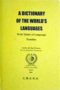 A Dictionary of the World's Languages download epub