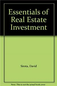 Essentials of Real Estate Investment download epub