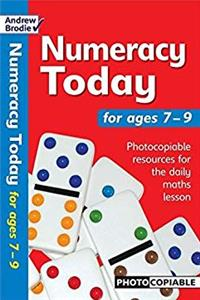 Numeracy Today 7-9: Photocopiable Resources for the Numeracy Hour (Numeracy Today) download epub