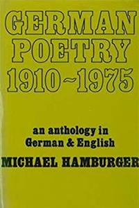 German Poetry, 1910-1975: An Anthology (English and German Edition) download epub