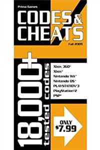 Codes & Cheats Fall 2009: Prima Official Game Guide (Codes & Cheats: Prima Official Game Guide) download epub