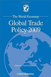 The World Economy: Global Trade Policy 2009 (World Economy Special Issues) download epub